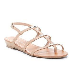 Chinese Laundry Carefree Sandal in Nude